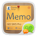 GO SMS Pro  Z Memo Theme EX icon