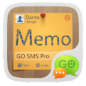GO SMS Pro  Z Memo Theme EX