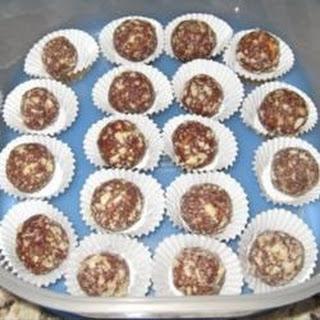Rum Cookie Balls