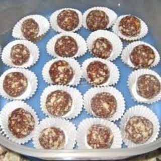 Rum Cookie Balls.