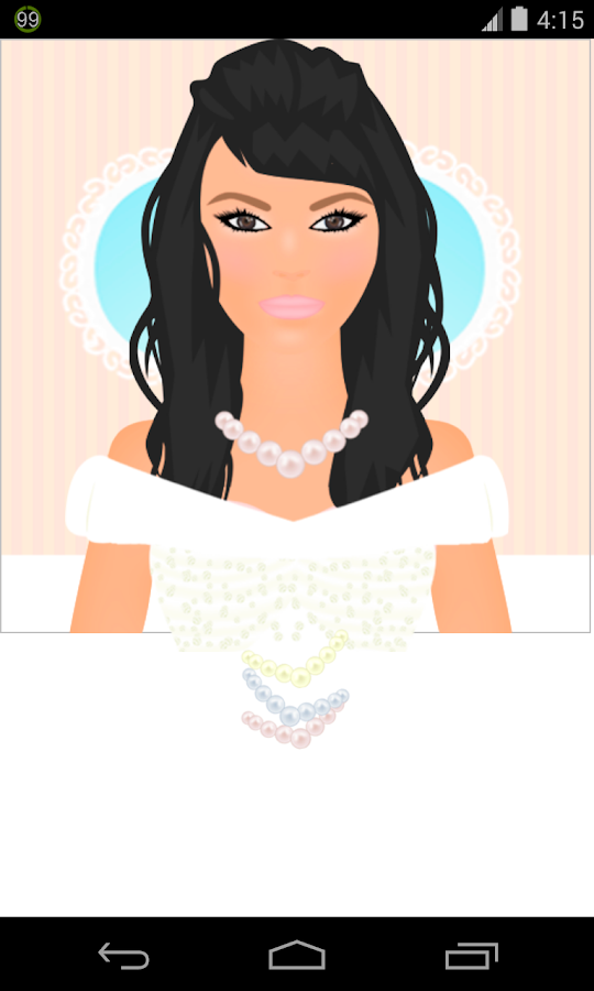 bride dress up games- screenshot