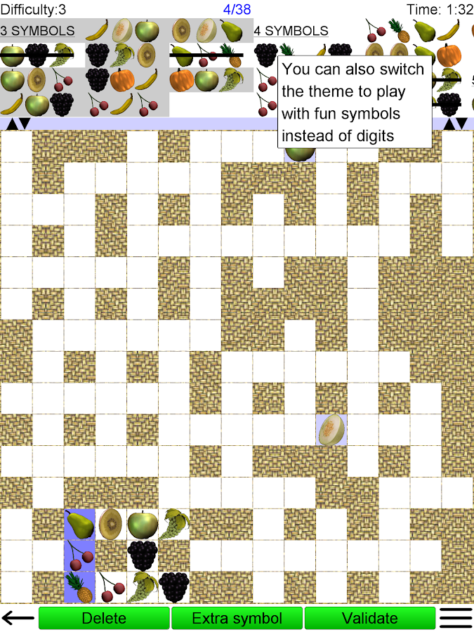 Number Fit Puzzle- screenshot