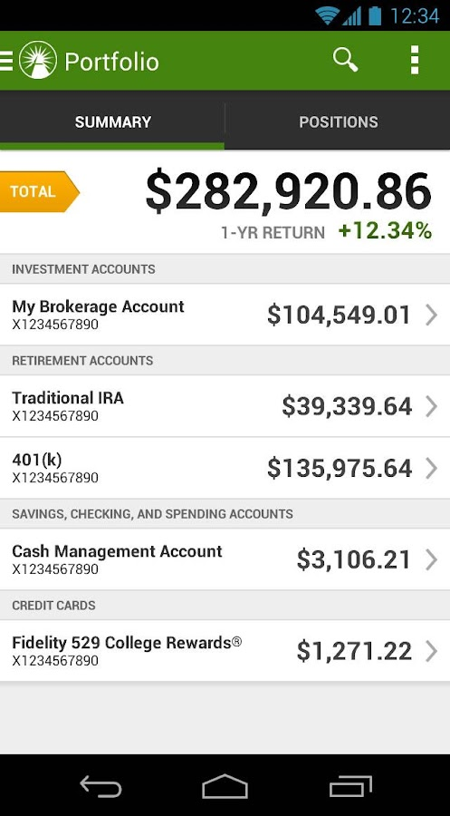 Fidelity investments android apps on google play for First choice my account