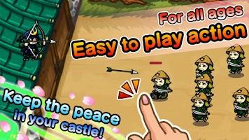 Screenshot of Samurai Defender with Ninja