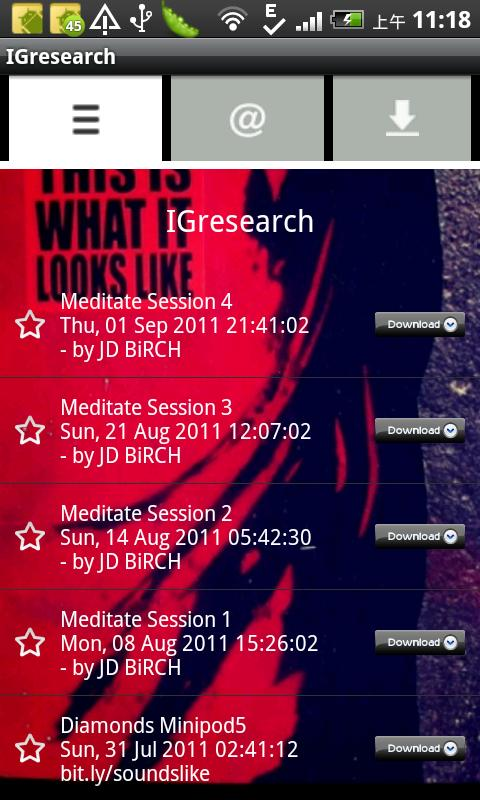 IGresearch- screenshot