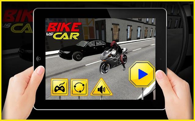 Bike VS Car - screenshot
