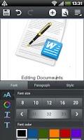 Screenshot of Polaris Office 4.0