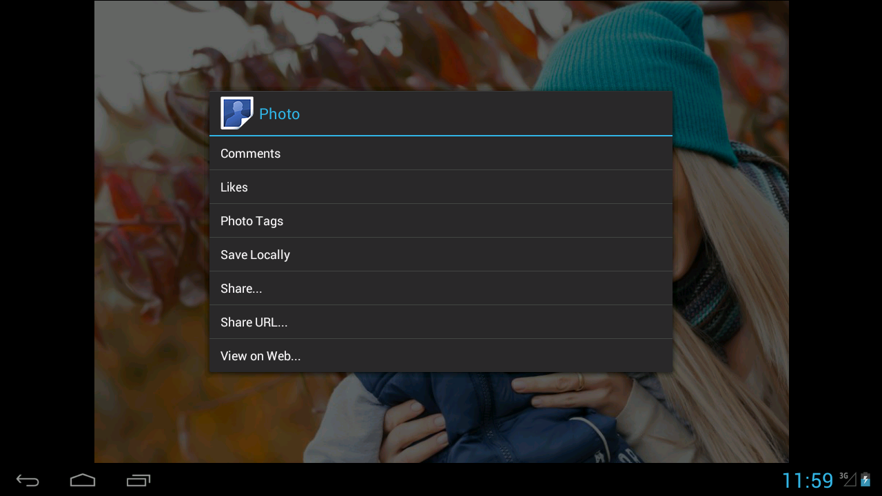 FotoFolio for Facebook - screenshot