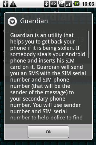 Guardian - screenshot