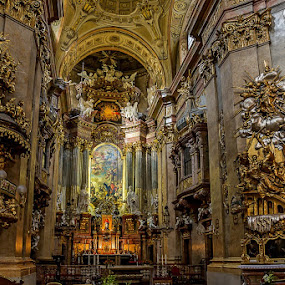Somewhere in Wien by Viorel Stanciu - Buildings & Architecture Places of Worship ( god, arhitecture, details, church, place of worship,  )