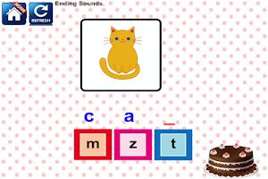 Screenshot of Phonics Reading Kindergarten 1