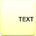 A Text Widget logo