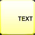A Text Widget logo