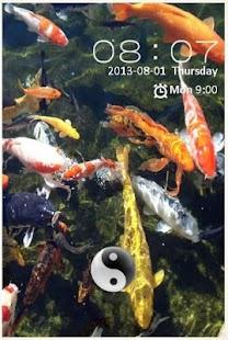 Koi Fish LOCK SCREEN