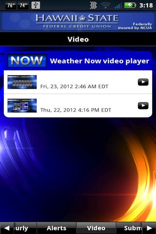 Hawaii News NOW WeatherNOW - screenshot