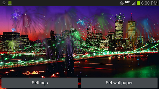 July 4th Fireworks HD- screenshot thumbnail