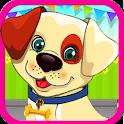 小狗照顾女孩子的游戏 icon