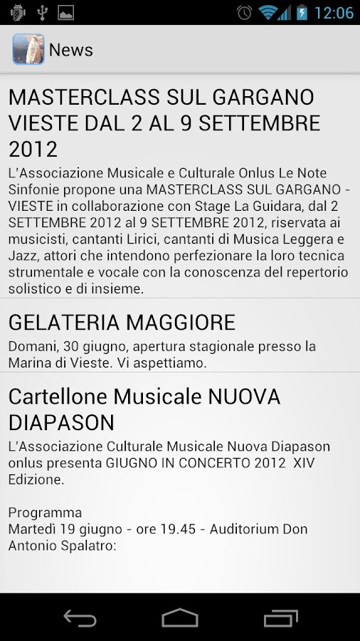 Guida Vieste- screenshot