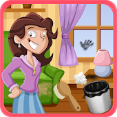 House Clean up Kids Game