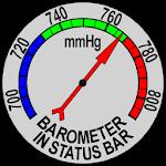 Barometer In Status Bar v2.5.0
