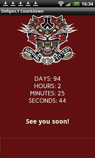 Defqon.1 2014 Countdown