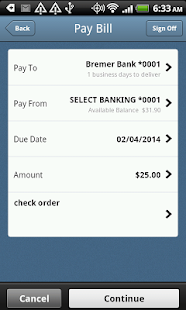 Bremer Bank Mobile - screenshot thumbnail