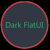 Dark Flat UI - CM12 Theme
