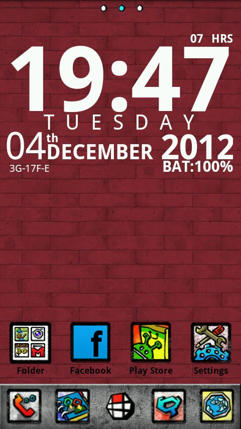 Graffiti GO LauncherEX Theme - screenshot