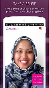 Hijab Fashion Photo Shopping screenshot 1