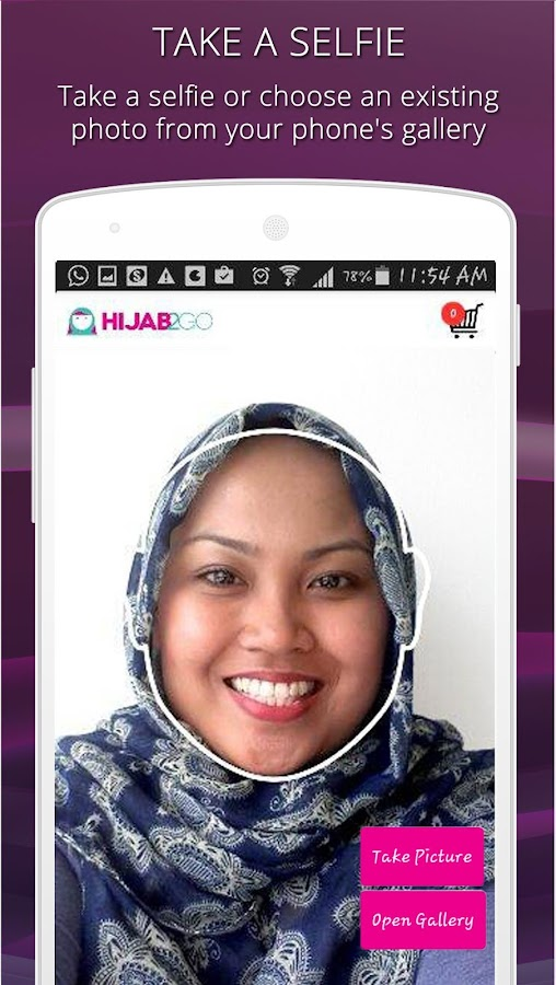 Hijab Fashion Photo Shopping- screenshot