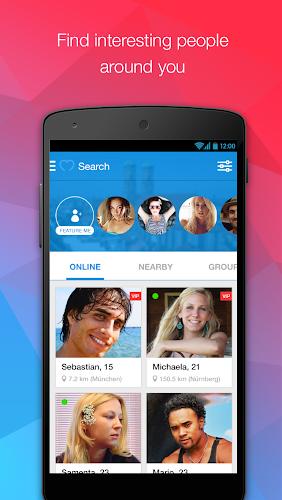 ... MiuMeet Chat Flirt Dating App Android App Screenshot ...