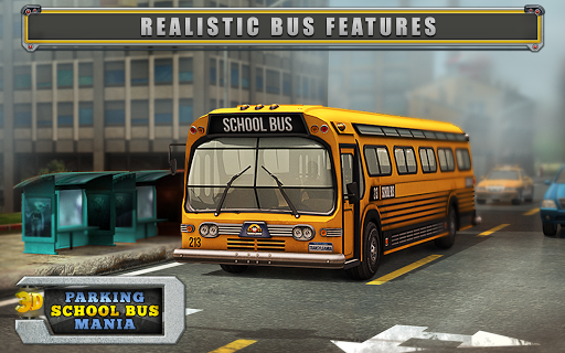 School Bus Mania 3D Parking