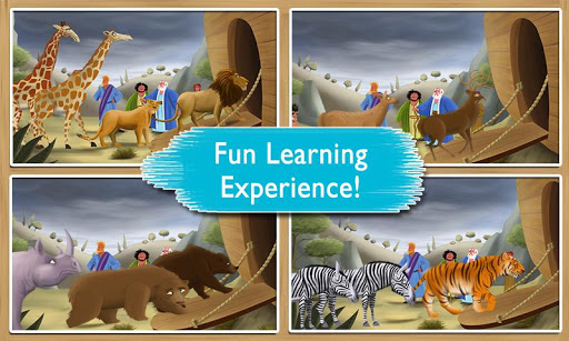 【免費書籍App】Noah's Ark: Bible Story Book-APP點子