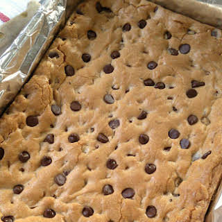 Chewy Chocolate Chip Cookie Bars.