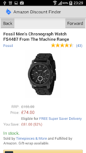 Amazon UK Discount Finder screenshot 3