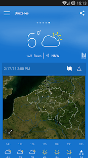 KMI - IRM: .be Weather- screenshot thumbnail