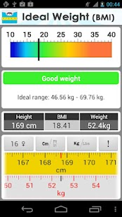 Ideal Weight (BMI) - screenshot thumbnail