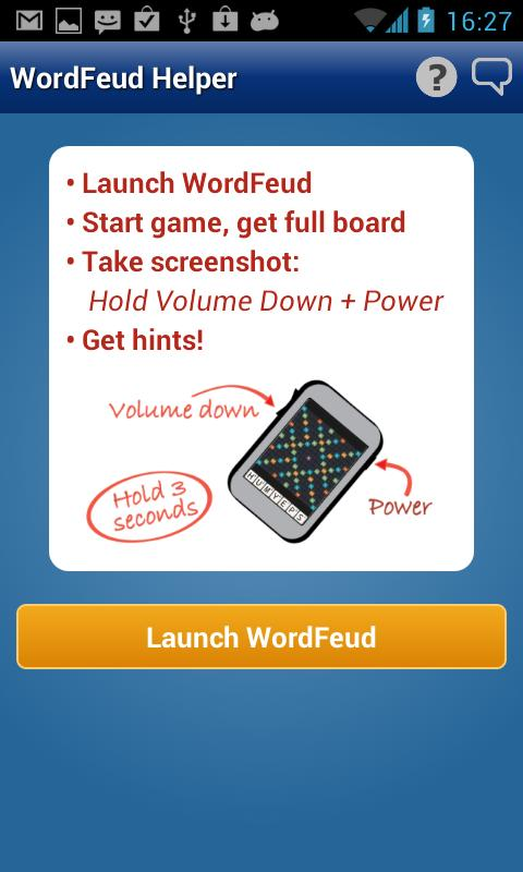 Helper for WordFeud Free - screenshot