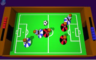 Screenshot of Flick It Football 3d