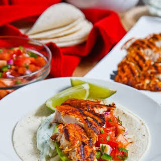 Chipotle Lime Fish Tacos.
