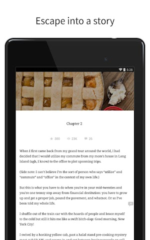 android Wattpad - Free Books & Stories Screenshot 6
