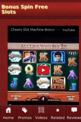 Bonus Spin Free Slots