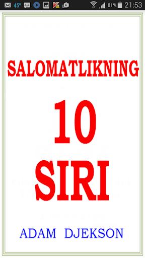 Salomatlikning O'nta Siri