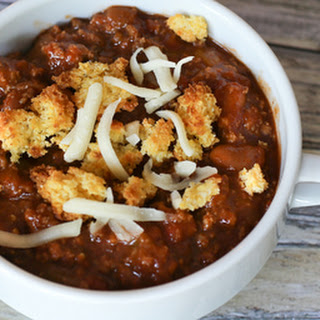 Crockpot Chili With Ground Beef and Beans