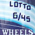 Lotto 6/45 Wheels icon