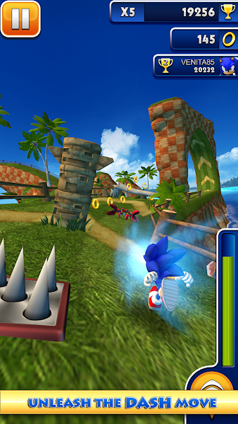 Sonic Dash - screenshot thumbnail
