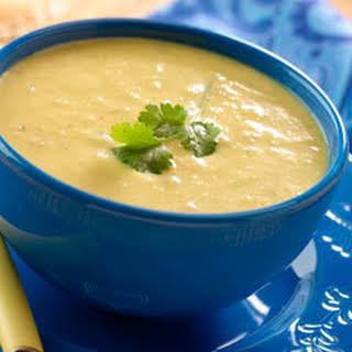 Cilantro Corn Soup.