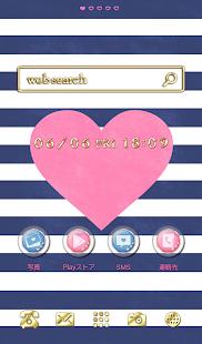 可愛換裝桌布★Marine heart