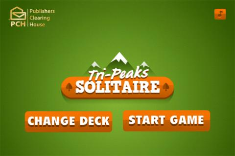 TriPeaks Solitaire Free - screenshot