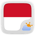 Bahasa Indonesian GO WeatherEX icon